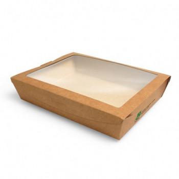 Pudełko brązowe sałatkowe...