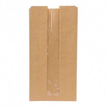 Torebki papierowe z oknem...