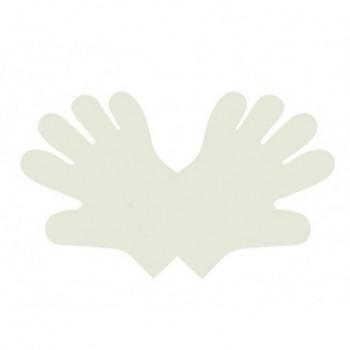 Rękawiczki PLA rozm.M białe...