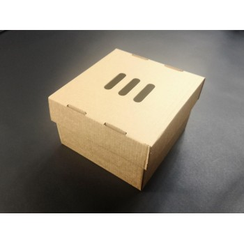 Pudełko, opakowanie do BURGERÓW  XXL rozkładane
