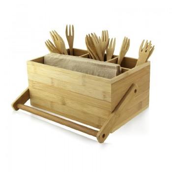 Pojemnik bambusowy na...