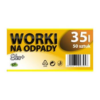 Worki na odpady LDPE 35l...