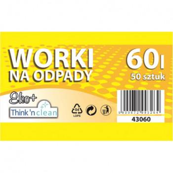 Worki na odpady LDPE 60l...