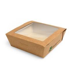 Pudełko brązowe sałatkowe 650ml