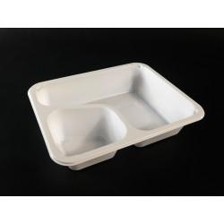 Pojemnik obiadowy  227x178x50 biały, dwudzielny COLT,