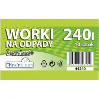 Worki na odpady LDPE 240l...
