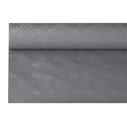 Paper tablecloth with damast embossing 6 m x 1 2 m