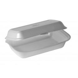 Menubox Lunch box styropianowy  1/2 obiadu