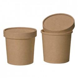 Pojemnik ekologiczny 650 ml zupa kraft