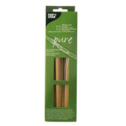 Słomki bambusowe 10mm dł.23cm PURE