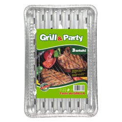 Grill Party Tacka 3szt