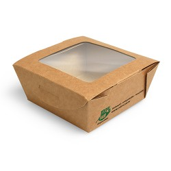 Pudełko brązowe sałatkowe 350ml