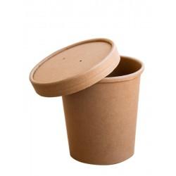 Pojemnik papierowy 450 ml Kraft zupa