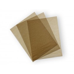 Papier pakowy do kanapek, wędlin woskowany kraft 30,5x27,3cm
