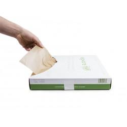 Papier woskowany kraft do kanapek,wędlin 35,6x45,7cm