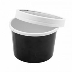 Pojemnik papierowy zupa 240 ml czarny