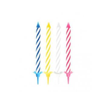 Świeczki urodzinowe mix...