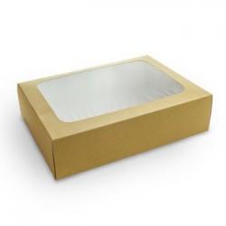 Pudełko na kanapki kraft,...
