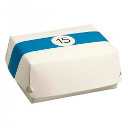 Pudełko BURGER,  LUNCH BOX, BILLARD 225x180x90mm