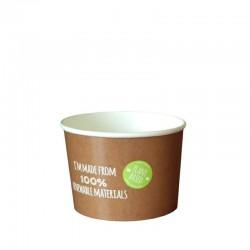 Pojemnik papierowy 500 ml do zupy, do dań na wynos