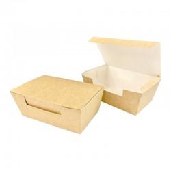 Papierowe pudełko  kurczak mały  BRĄZOWY