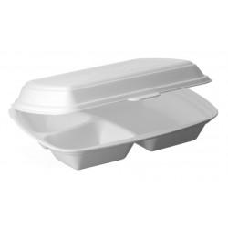 Menubox obiadowy trójdzielny  op.125szt Pack Klaipeda