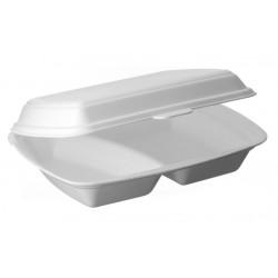 Menubox obiadowy dwu dzielny op.125szt Pack Klaipeda