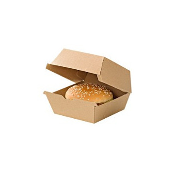 Pudełko hamburger kraft...