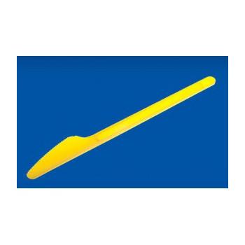 Nóż COLOR żółty, cena za...