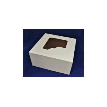 Pudełko 18x18x9 biało/br...