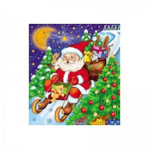 Torebki świąteczne Boże Narodzenie. Torebki reklamowe  ozdobne z Mikołajem. Zapakowania.