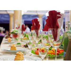 Serwetki ozdobne. Dekoracje potraw. Gastronomia serwetki. Dekoracje stołów.