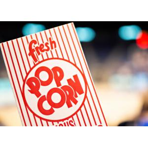 Kubełki opakowania papierowe. Kubełki na popcorn. Zapakowania. Kubełki papierowe na kurczaka.  Pudełki do dań na wynos.
